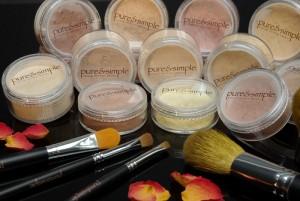 přírodní přirozené zdravé make-upy